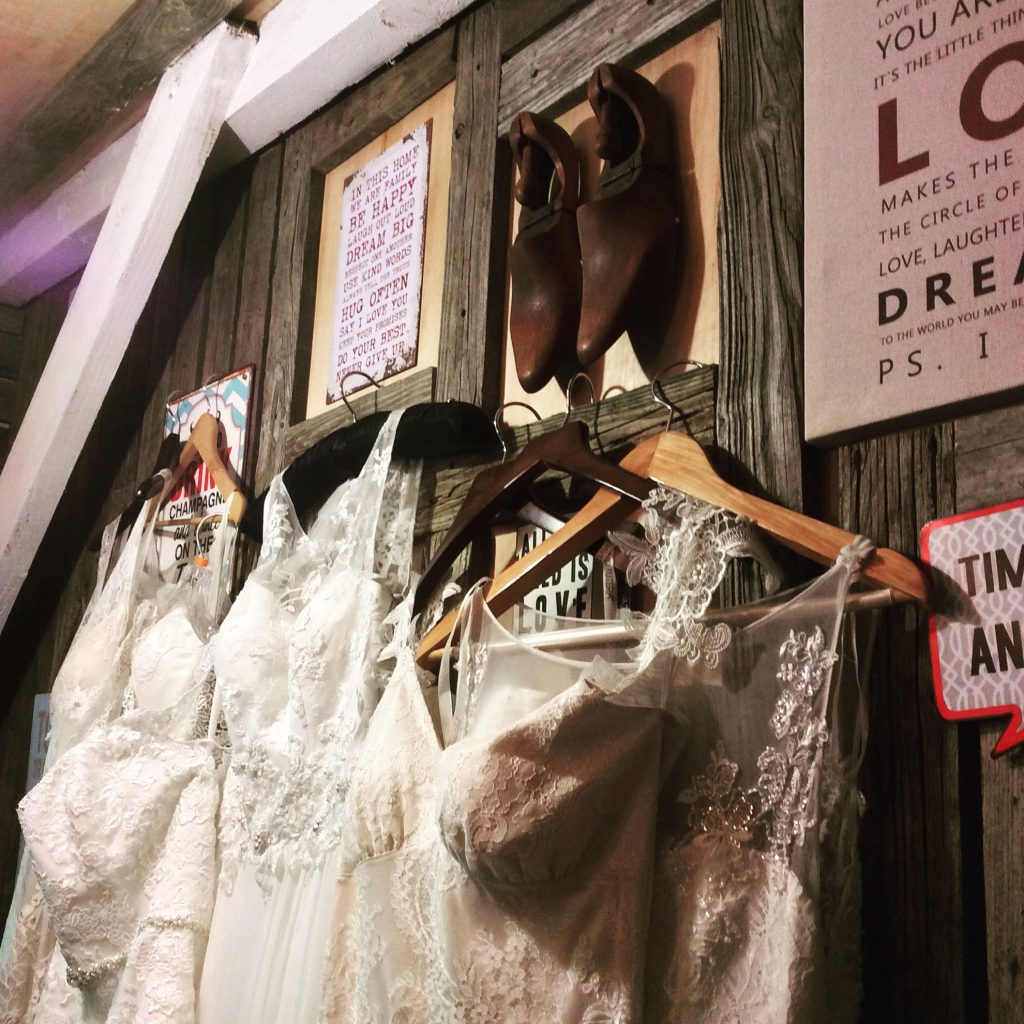 UNUSUAL PLACES TO FIND YOUR WEDDING DRESS