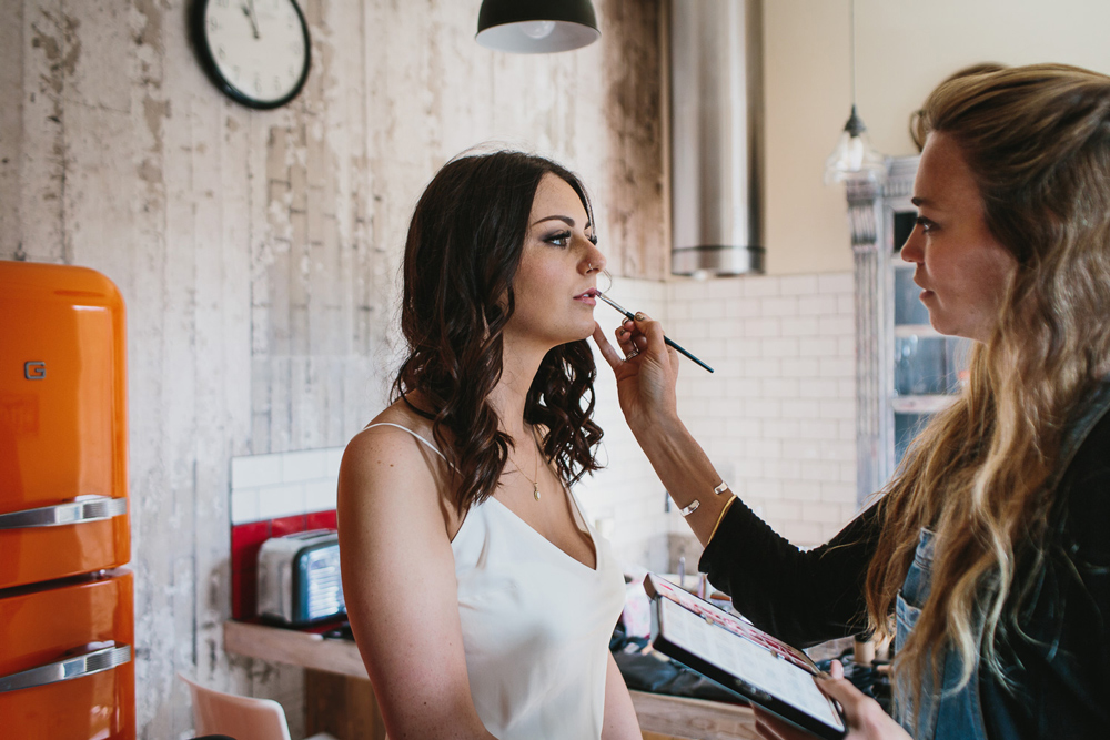 wedding make up cornwall