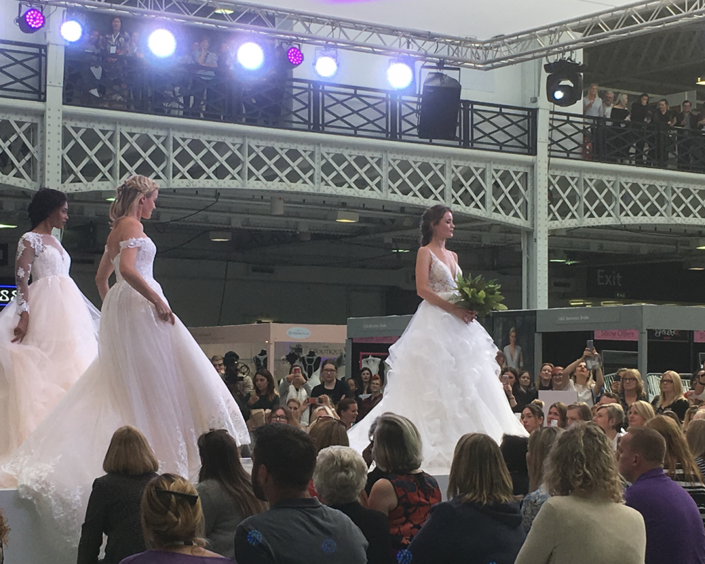 Checking out the new trends at London's biggest Wedding Fair