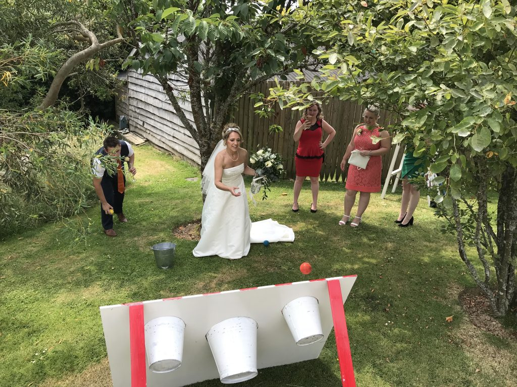 Wedding Games At Lower Barns