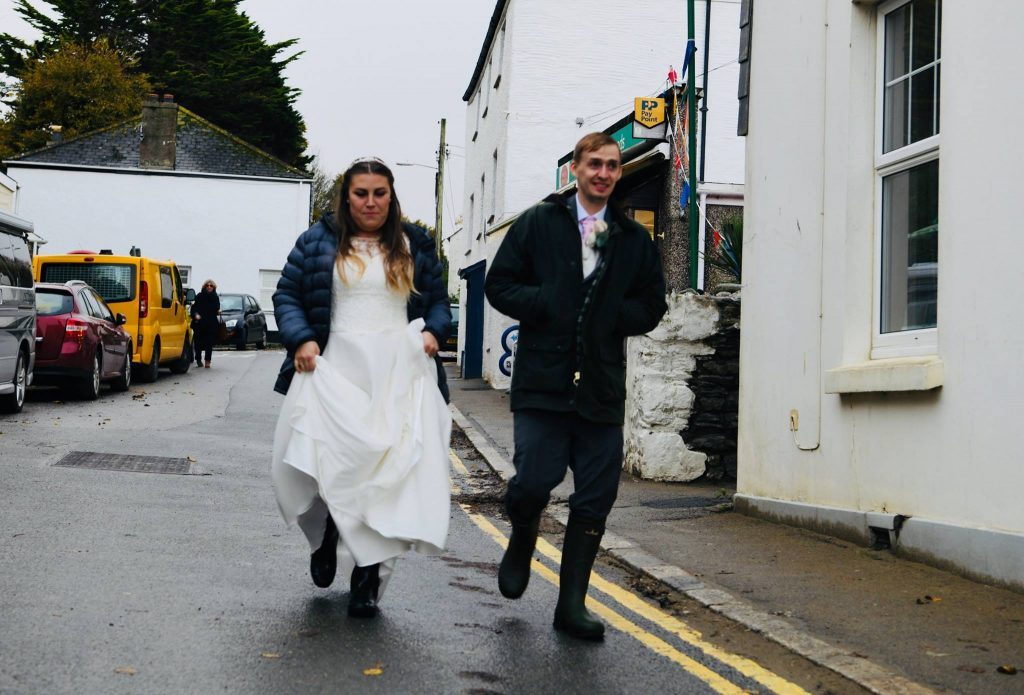 Gemma and Richard's Cornish Runaway Wedding