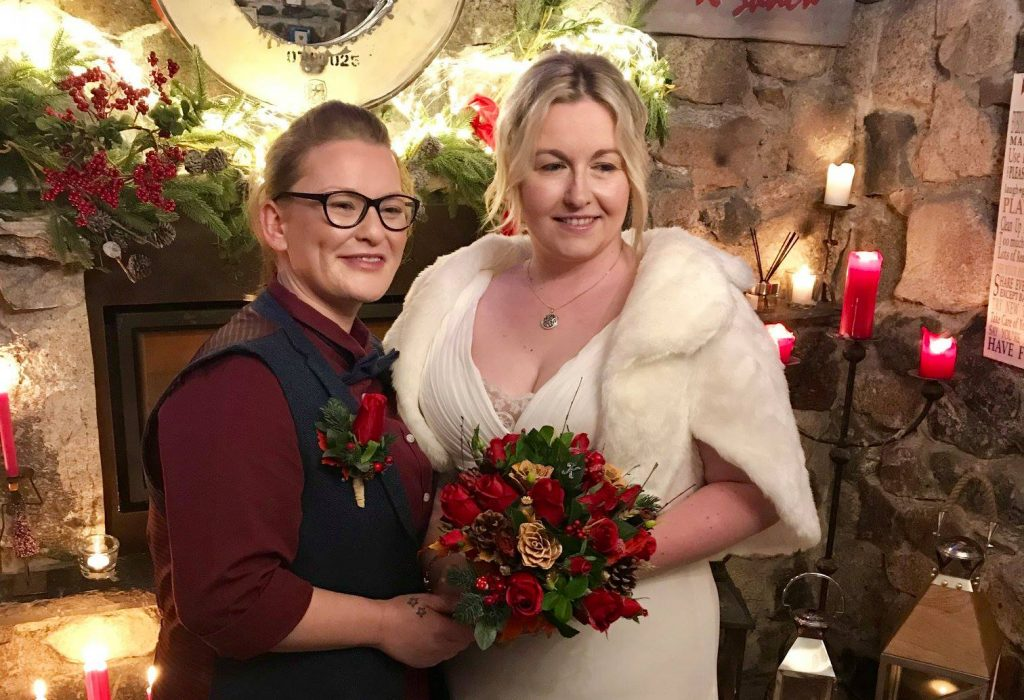 Real Weddings: Katie and Katie have a New Year's Eve to Remember!