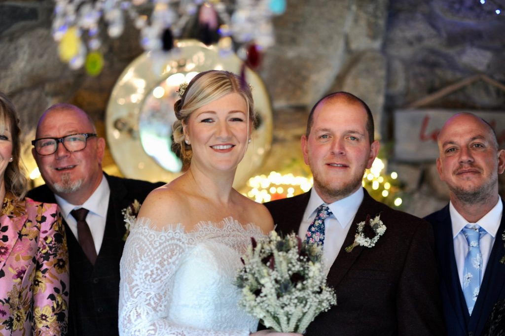 Real Weddings: Sarah and Michael run away to Cornwall with their nearest & dearest