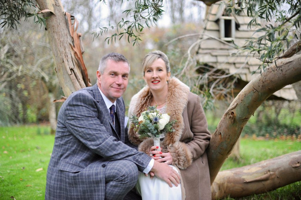 Real Weddings: Jon and Louise's Festive Elopement in Cornwall