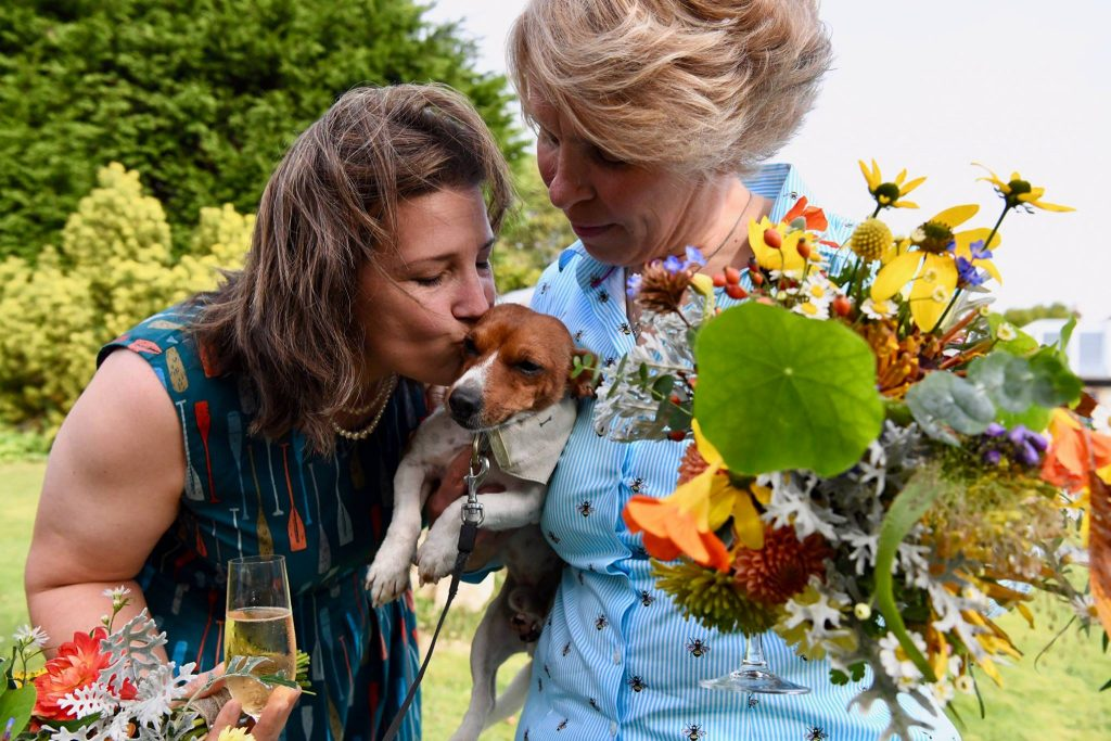 Real Weddings: Alana and Elinor Get Wed in October Sunshine