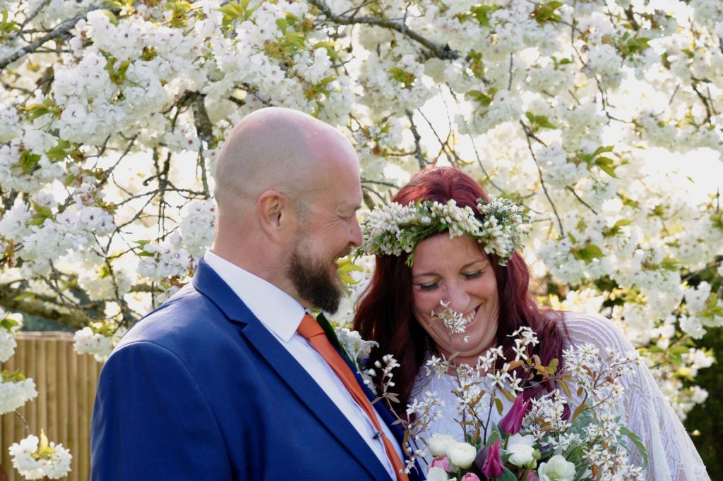 Real Weddings: James & Rachel's Outdoor Wedding with their Favourites